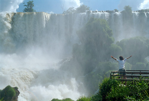 Lenka at the Iguazu